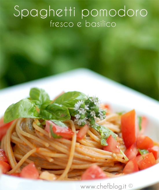 pasta pomodoro fresco e basilico