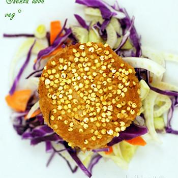 Hamburger di soia fatti in casa