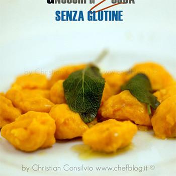 Gnocchi di zucca senza glutine