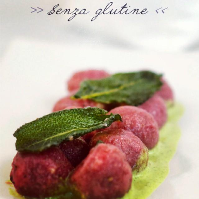 Gnocchi rosa #gluten free #chefsofinstagram  #cuisine #glutenfree #cooking #instafood#chef #vegetarian