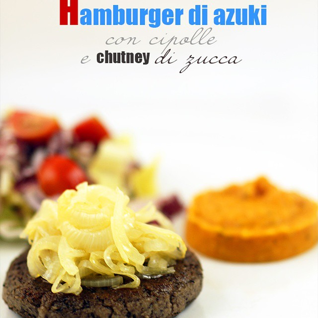 Hamburger di azuki #vegan #veganfoodshare #vegetarian #instafood #cooking #food #chef #chefsofinstagram #cooking #chefsroll #hamburger