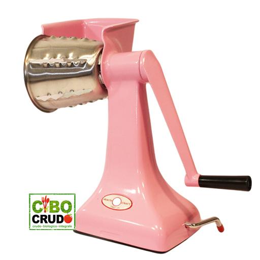 macchina-tagliaverdure-manuale-rosa