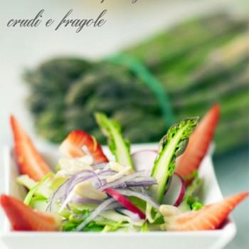 Insalata di asparagi crudi