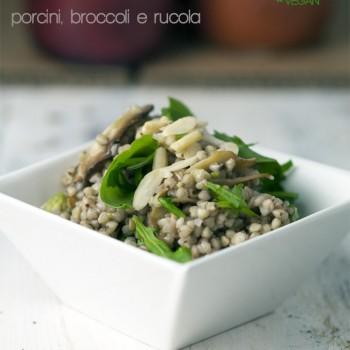 Grano saraceno con porcini e broccoli [vegan – senza glutine]