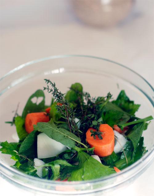 ricetta dado vegetale fatto in casa