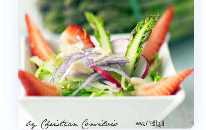 insalata asparagi crudi